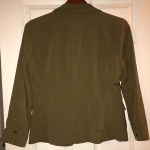 Walter Baker Jackets & Coats - Walter Baker Green Military Blazer